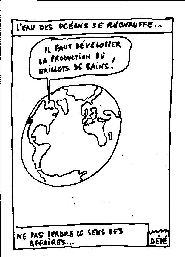 L'EAU DES OCEANS SE RECHAUFFE