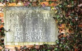 Conseil culturel d'Alsace Lettre ouverte au Président Richert – Lectures de René Schickelé