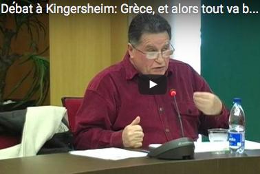Extraits vidéo du débat : Grèce, alors tout va bien ?