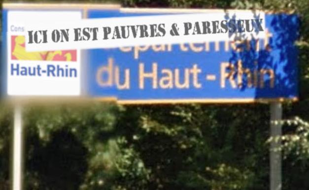 Labeur du pauvre:  Le conseil départemental du Haut-Rhin œuvre pour le larbinat