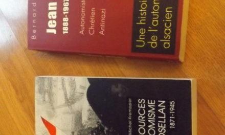 Comprendre l'autonomisme alsacien : deux ouvrages à ne pas rater!