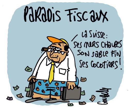 dessin-paradis-fiscaux Suisse