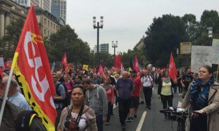 Allemagne : 320.000 manifestants contre le CETA !