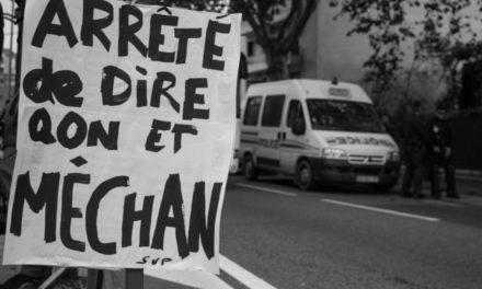 La police manifeste à Mulhouse, notre témoin raconte !