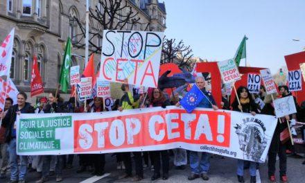 Strasbourg à l'heure du CETA