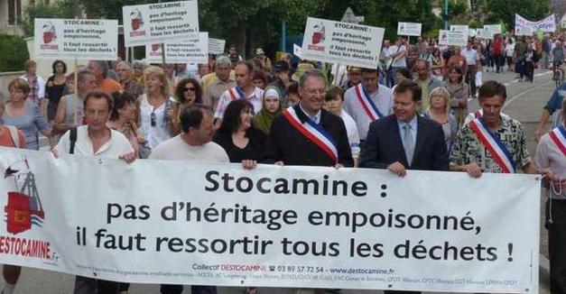 Pour une enquête parlementaire sur le dossier Stocamine