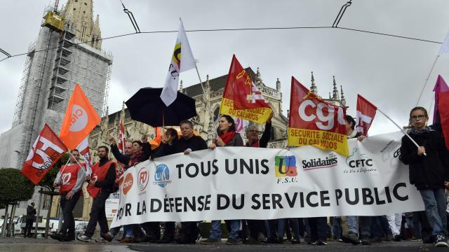 22 mai: la fonction publique dans la rue!