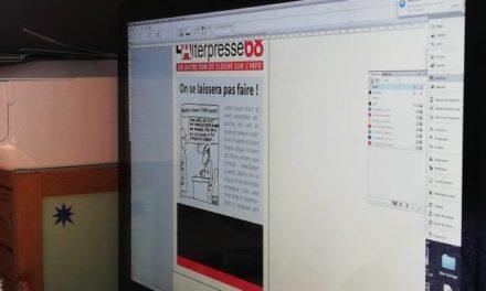 L'Alterpresse68 fait son numéro (en papier) !