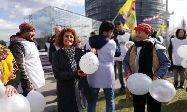 Les Kurdes se rappellent au souvenir des européens à Strasbourg
