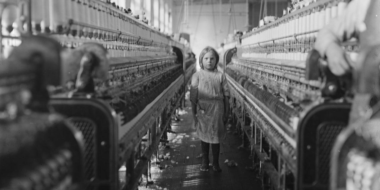 Un fil rouge de l'histoire sociale : le travail des enfants dans les filatures du 68 – 1° Partie