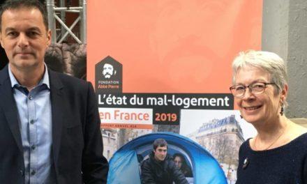 A Mulhouse, Christophe Robert, de la Fondation Abbé Pierre, plaide pour le logement comme levier d'insertion