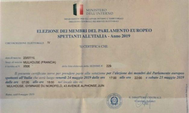 Élections européennes depuis Mulhouse: comment j'ai perdu mon latin… en votant avec les italiens !
