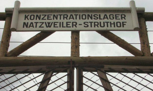 Des lycéens de Tübingen au Struthof