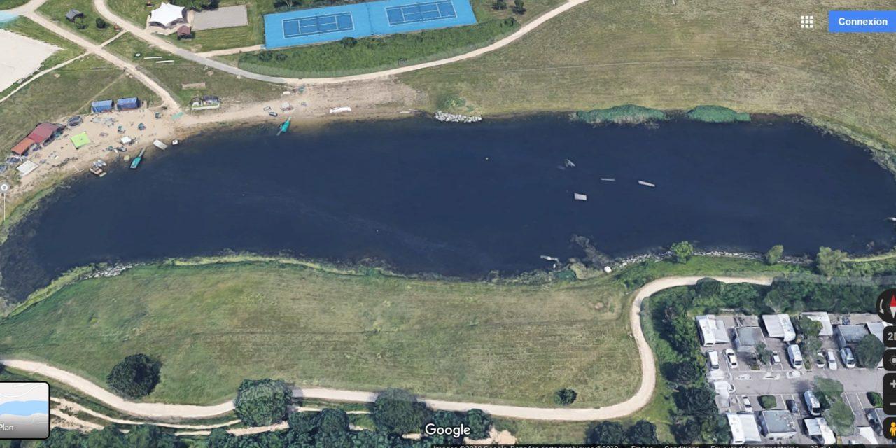 Pêche miraculeuse sur un dépotoir : le plan d'eau de Décathlon à Kingersheim – 1° partie
