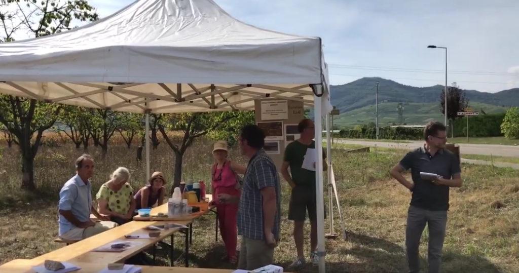 La pollution par le lindane : à Wintzenheim, elle fait l'objet d'une pétition
