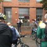 Mulhouse traversée par une caravane citoyenne à vélo