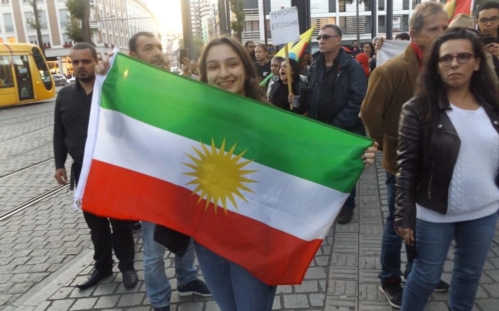 Rassemblement des kurdes de Mulhouse émaillé de provocations et de gaz lacrymogènes
