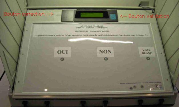Machines à voter, machines à fauter!