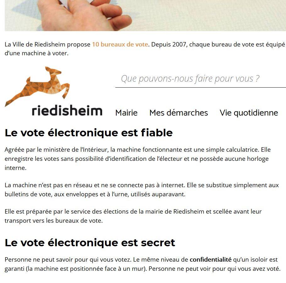 Dossier machines à voter : comment les municipalités cassent