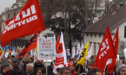 Depuis l'UD CGT jusqu'au coeur de la manifestation mulhousienne – Partie 2