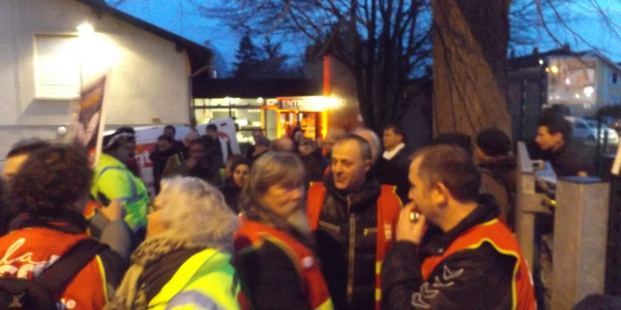 Réforme des retraites : manifestation à Mulhouse contre l'activation de l'article 49-3