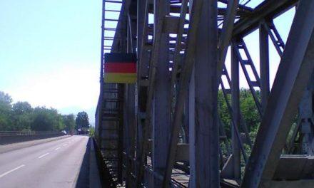 Une illustration du Schengen de l'absurde à la frontière allemande, près de Mulhouse