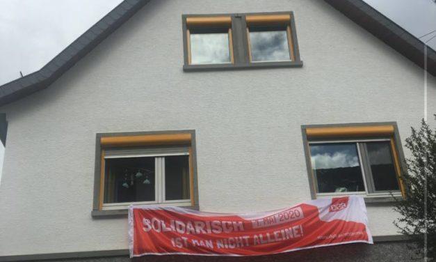 « Quand on est solidaire, on n'est pas seul » : la confédération syndicale allemande (DGB) organise un meeting du 1er mai en ligne