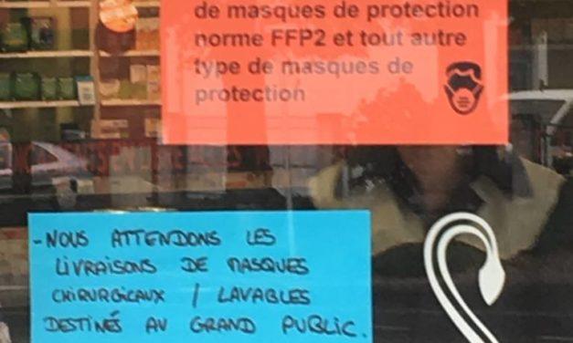 A Mulhouse, en Alsace, dans le Grand-Est, et en France : des masques socio-économiques qui démasquent