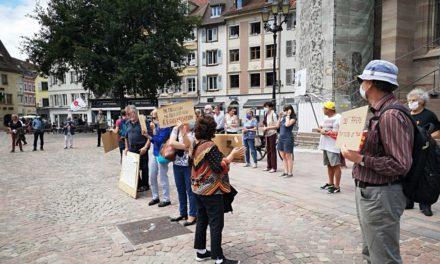 A Mulhouse, un rassemblement pour la journée mondiale de solidarité avec les réfugiés