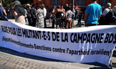Campagne boycott contre les produits Israéliens : 12 Mulhousiens font triompher le droit