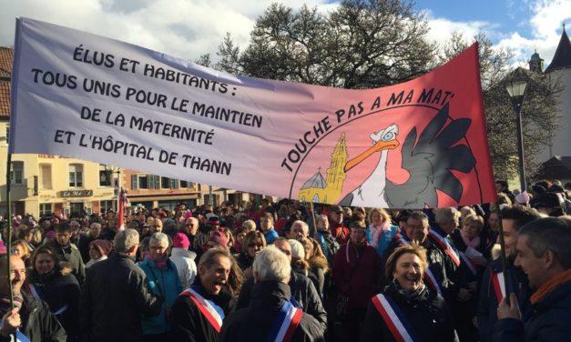 Fermeture des maternités de Thann et Altkirch : retour sur les dernières salves au conseil de surveillance du GHRMSA à Mulhouse