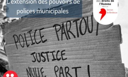 """""""Loi de Sécurité globale"""" : nouveaux pouvoirs pour la police municipale de Mulhouse, et réduction autoritaire du droit des journalistes et citoyens !"""