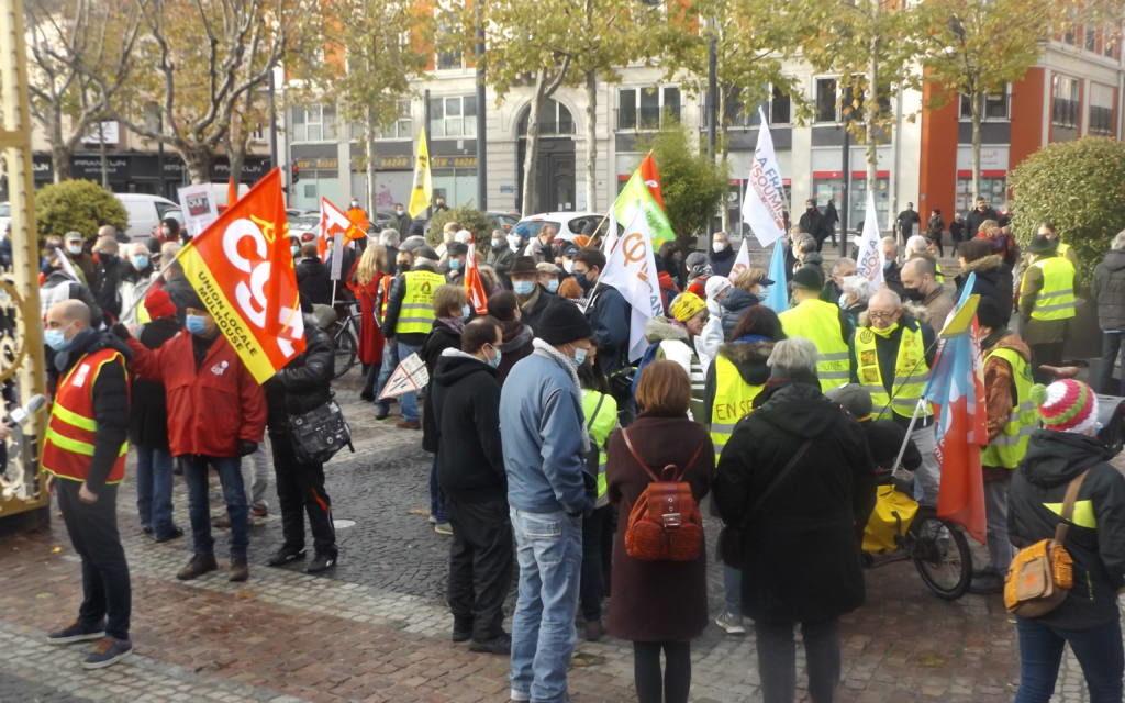 Loi de sécurité globale : 500 manifestants à Mulhouse, et un nouvel appel pour samedi prochain (et les artistes dès mardi)…