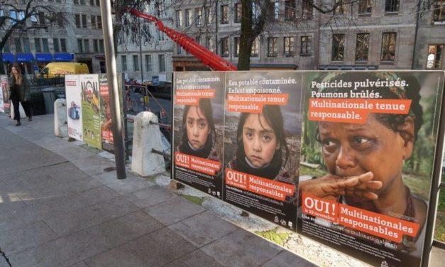 Chez nos voisins suisses, un double rejet lors des votations pour des « entreprises responsables » et « pour une interdiction des producteurs de matériels de guerre».