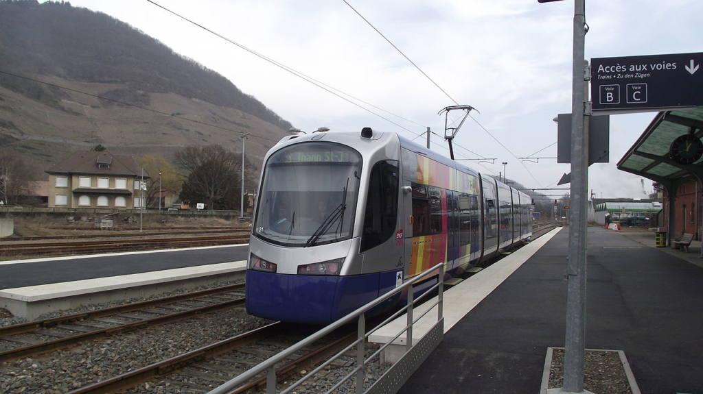 """Le """"Drame-Train"""" de Mulhouse à Thann fête ses dix ans : Thur Ecologie & Transports et la FNAUT Grand Est réagissent"""