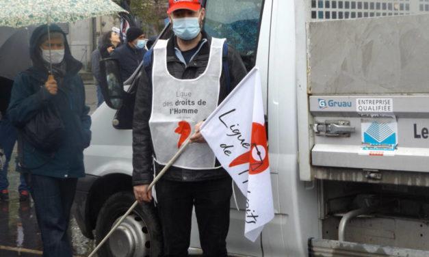 Photos de la manifestation à Mulhouse