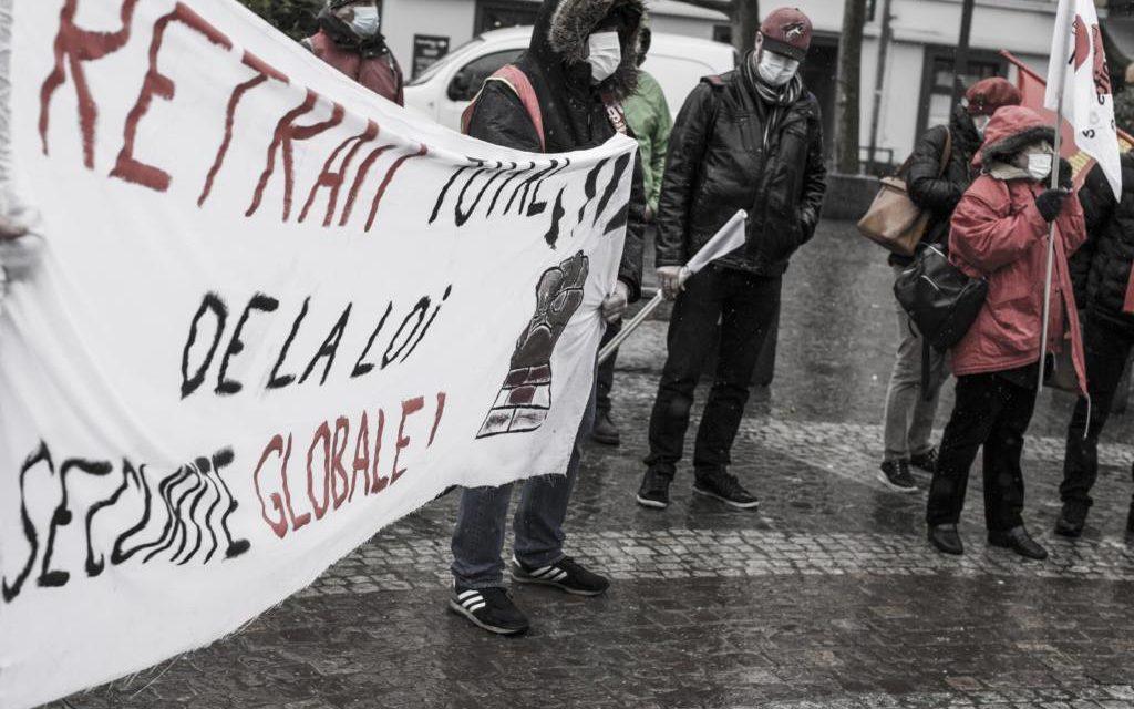 Manifestation contre la loi de sécurité globale à Mulhouse: sale temps pour les libertés!