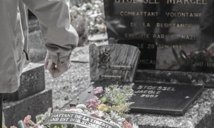 [Vidéos et photos] 8 mai à Mulhouse, un hommage syndical franco-allemand à Marcel Stoessel au cimetière de Dornach