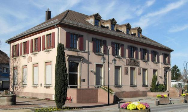 A Sausheim, près de Mulhouse, c'est D'r Maire ìn d'r Bubbalaschüal…*