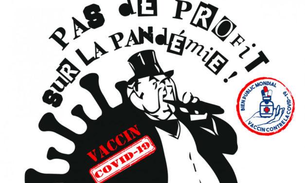 A Mulhouse, le parti communiste pétitionne pour que les vaccins deviennent un bien public mondial