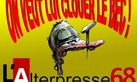 A Mulhouse, L'Alterpresse68 attaqué pour diffamation : qui veut lui clouer le bec ?