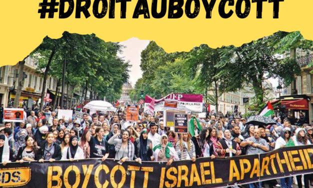 Des militants mulhousiens ayant appelé au boycott de produits Israeliens réclament la reconnaissance de leur droit d'expression par la justice française