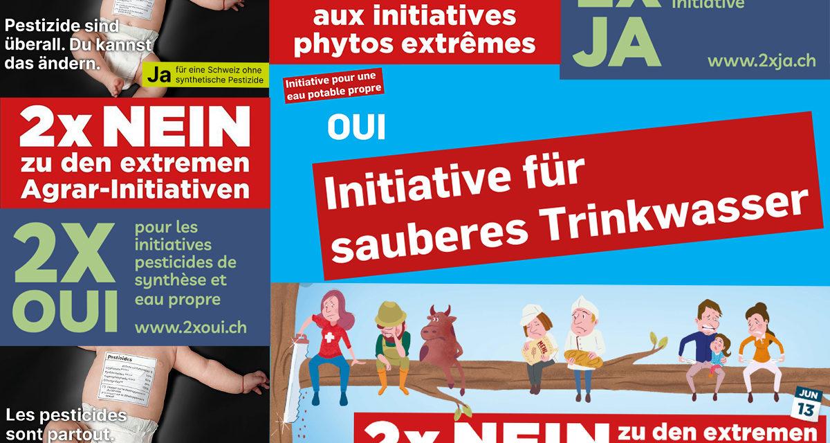 Quelques commentaires sur les résultats des votations suisses du 13 juin 2021