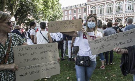 Troisième manifestation contre le pass sanitaire à Mulhouse : nouveau record de participation