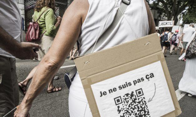 Succès de l'acte 5 de la mobilisation contre le pass sanitaire à Mulhouse, qui peine toutefois à former ses revendications