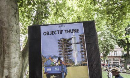 Septième mobilisation contre le pass sanitaire à Mulhouse, un peu plus structurée, et toujours aussi créative