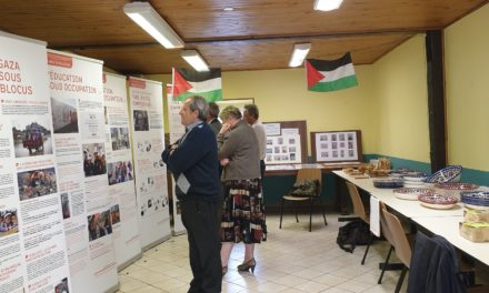Enfances brisées en Palestine occupée : une exposition itinérante de la plateforme alsacienne
