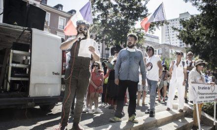 Huitième démonstration anti-pass sanitaire à Mulhouse