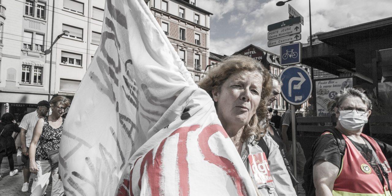 Neuvième acte des anti-pass sanitaire à Mulhouse