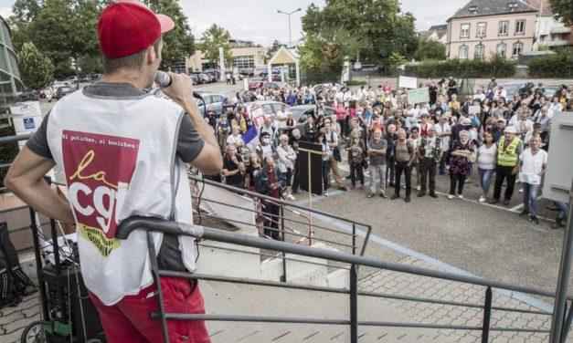Des soignants de Mulhouse et Colmar se rassemblent une seconde fois devant la délégation de l'ARS Grand-Est